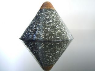 23ct Gold Tip Cosmic Ordering Manifestation / Zen Meditation Pyramid Black Dome